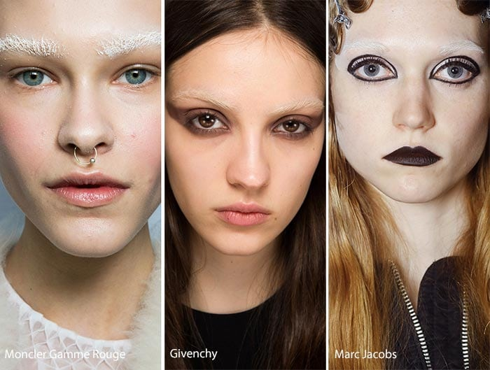 fall_winter_2016_2017_makeup_beauty_trends_bleached_eyebrows